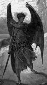 Satan, from Gustave Doré's illustations for Paradise Lost.
