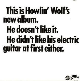 <i>The Howlin Wolf Album</i> 1969 studio album by Howlin Wolf