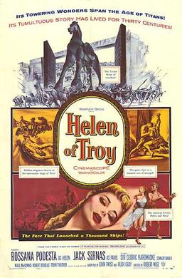the movie helen of troy Smellin' of troy what follows is a partial list of discrepancies between troy the big-budget hollywood movie and troy the epic poem and archeological history this list was helen took up with another trojan, deiphobus, after.