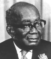 Edward Akufo-Addo, ceremonial President of Ghana from 1969 to 1972 and founding member of the United Gold Coast Convention[42]