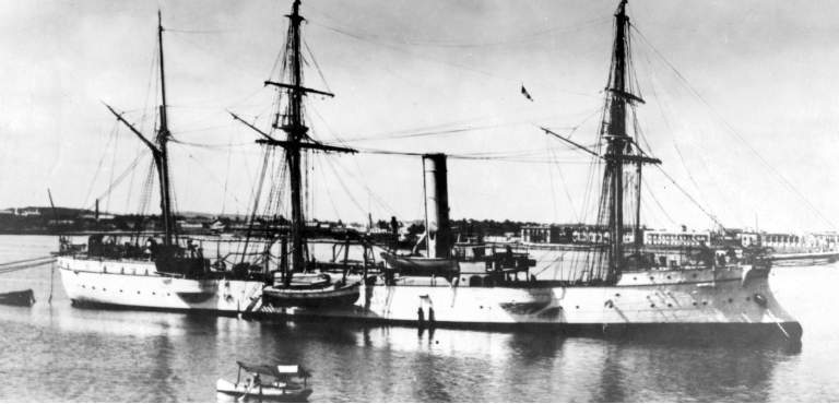 Mexican rigged Cruiser Zaragoza