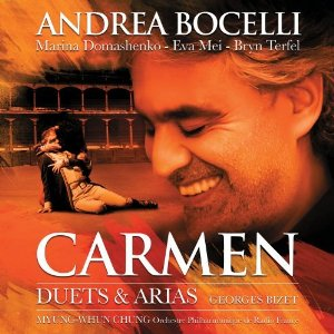 <i>Carmen: Duets & Arias</i> 2010 studio album by Andrea Bocelli
