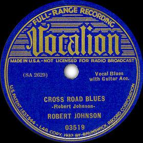 Cross Road Blues Blues standard written by Robert Johnson