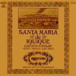 <i>Santa María de Iquique</i> (cantata) 1970 studio album by Quilapayún