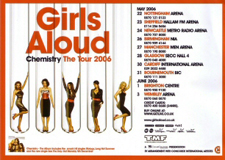 Chemistry: The Tour concert tour by British all-female pop group Girls Aloud