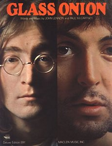 Glass Onion original song written and composed by Lennon-McCartney