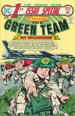 Green Team Teen Trillionaires #2 Comic Book 2013 New 52 DC