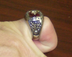 A typical 300 ring. This one is awarded for a USBC-certified 300 game.