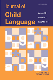 <i>Journal of Child Language</i> Academic journal