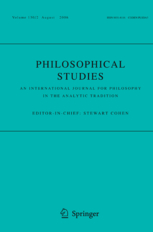<i>Philosophical Studies</i> journal
