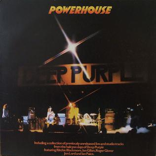 <i>Powerhouse</i> (Deep Purple album) 1977 compilation album of live recordings and studio outtakes by Deep Purple