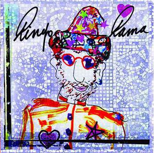 Ringo starr art yeah baby original album artwork by mark