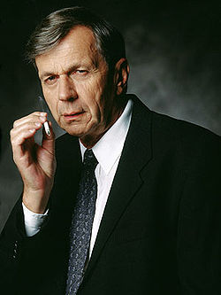 William B. Davis as the Smoking Man