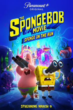 Download The SpongeBob Movie: Sponge on the Run (2020) Dual Audio {Hindi-English} 480p | 720p