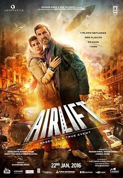 Download Airlift (2016) Hindi Full Movie 480p [500MB] || 720p [1.2GB]