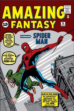 Amazing Fantasy #15 (Aug. 1962). Cover art by ...