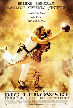"Big Lebowski The Dude Poster 23/"" x 35/"""