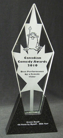 Canadian Comedy Awards trophy 2010.png