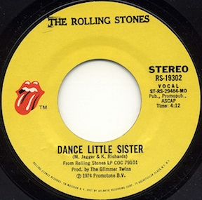 Dance Little Sister (The Rolling Stones song) 1974 song performed by The Rolling Stones