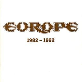 <i>1982–1992</i> (Europe album) compilation album by Europe