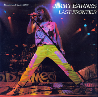 Last Frontier 1989 single by Jimmy Barnes