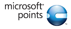 The promotional logo of Microsoft Points