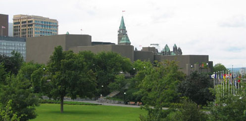 The National Arts Centre opened in Ottawa on June 2