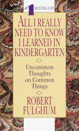 Robert Fulghum's Uh-oh, here comes Christmas: Based on essays the author of All I really need to know I learned in kindergarten