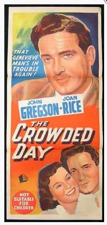 La Crowded Day-teatra eldonafiŝo 1954 (aŭstralia).jpg