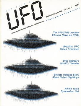 UFO Magazine Vol. 1, No.