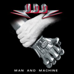 <i>Man and Machine</i> (album) 2002 studio album by U.D.O.
