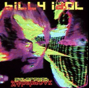 Cover of Billy Idol's album Cyberpunk.