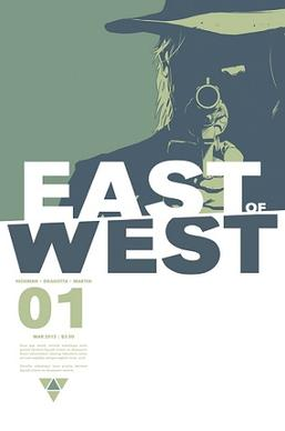 East Of West Comic Issue #1 FIRST PRINT