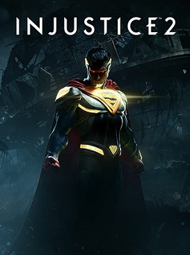 Official poster of Injustice 2 game featuring Batman launched in 2017.