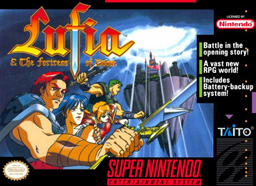 <i>Lufia & the Fortress of Doom</i> 1993 SNES RPG