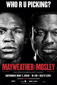 Floyd Mayweather Jr. vs. Shane Mosley Boxing competition