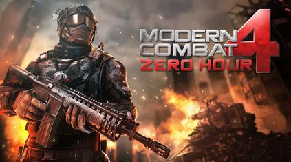 Modern Combat 4: Zero Hour v1.1.7c Full Data + Apk Free