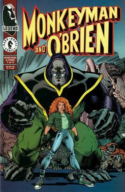 Monkeyman and O'Brien featured an unlikely pair of crime fighters