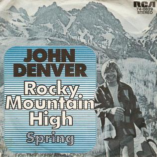 Rocky Mountain High 1972 single by John Denver
