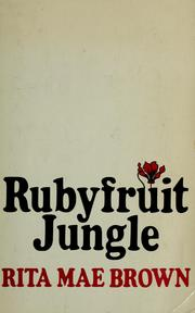 Rubyfruit Jungle (Rita Mae Brown novel) cover.jpg