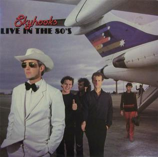 <i>Live in the 80s</i> 1983 live album by Skyhooks