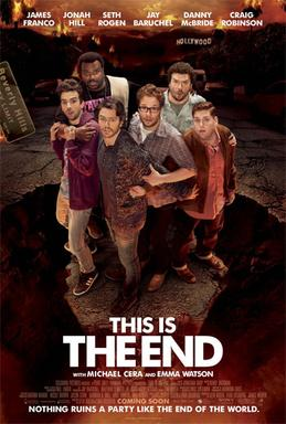 This is the End! Movie Poster (WIKIPEDIA)
