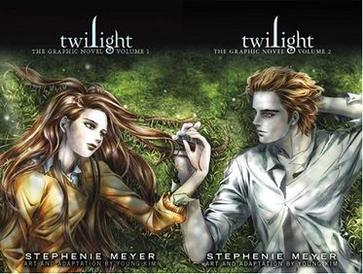 Image result for graphic novel twilight
