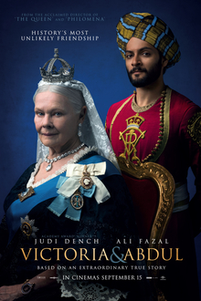Image of Victoria & Abdul movie cover.