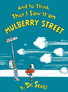 Dr. Seuss activity for And To Think I Saw It On Mulberry Street