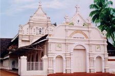 Marth Mariam Cathedral Church in Thrissur, India