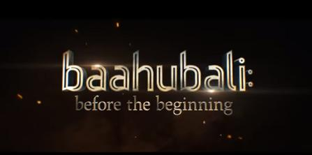 Baahubali: Before the Beginning - Wikipedia