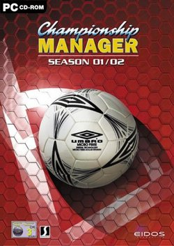 Boxart for the PC release of Championship Manager 01/02