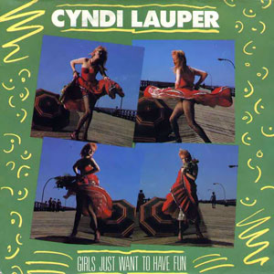 Cyndi Lauper — Girls Just Want to Have Fun (studio acapella)