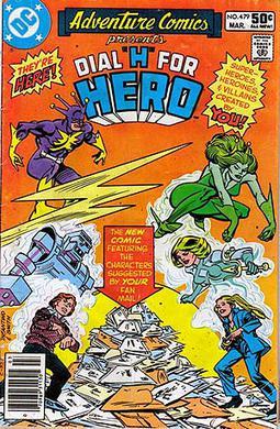 Cover of Adventure Comics #479, featuring Chri...